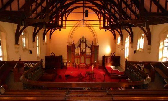 Church Interior from Balcony